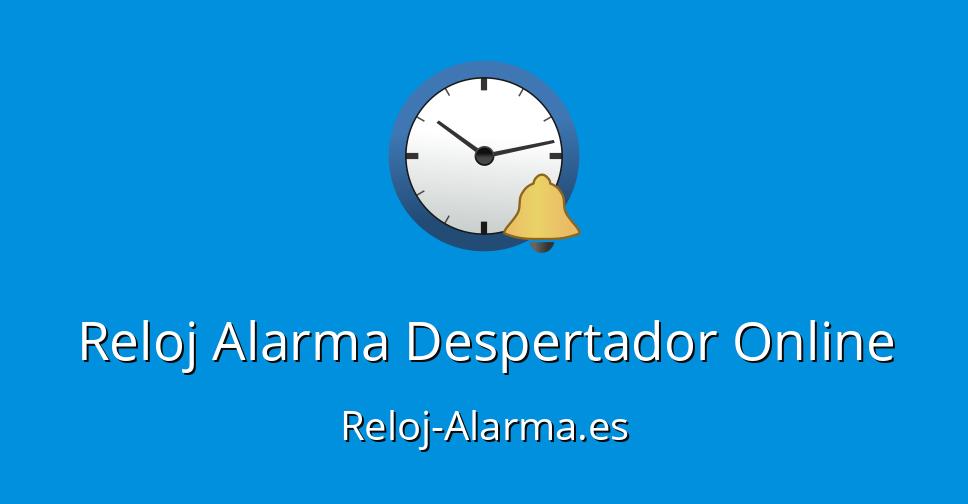 f87834839417 Reloj Alarma Despertador Online - Reloj-Alarma.es