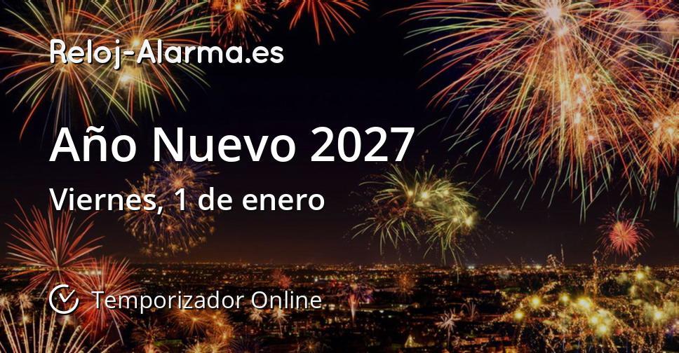Año Nuevo 2027