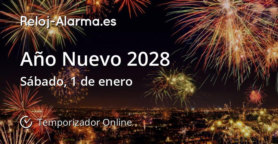 Año Nuevo 2028
