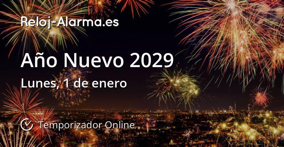 Año Nuevo 2029
