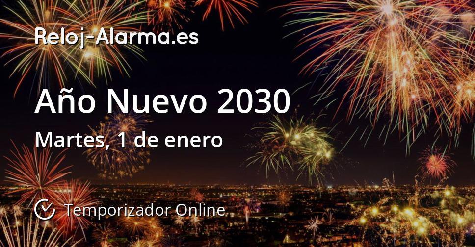 Año Nuevo 2030