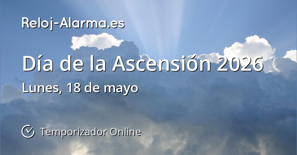 Día de la Ascensión 2026