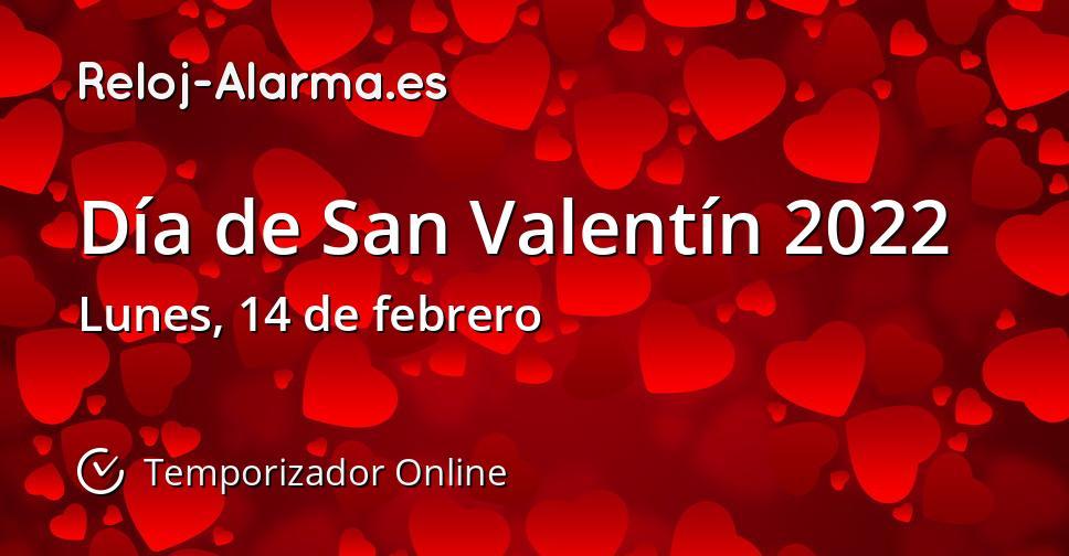 Día de San Valentín 2022