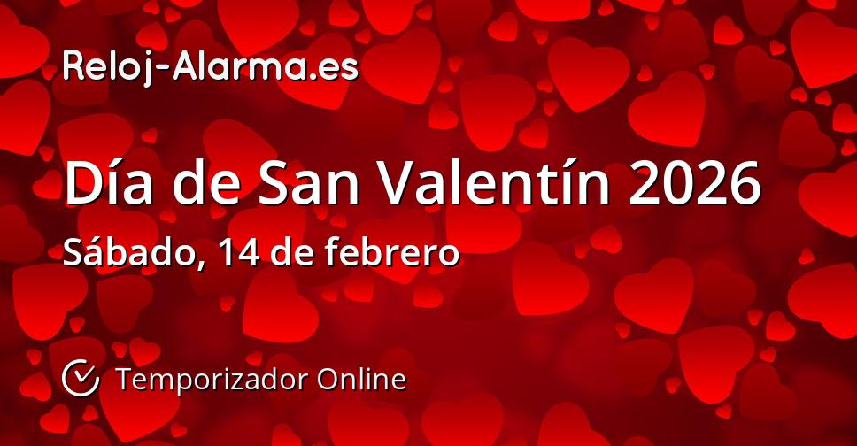 Día de San Valentín 2026