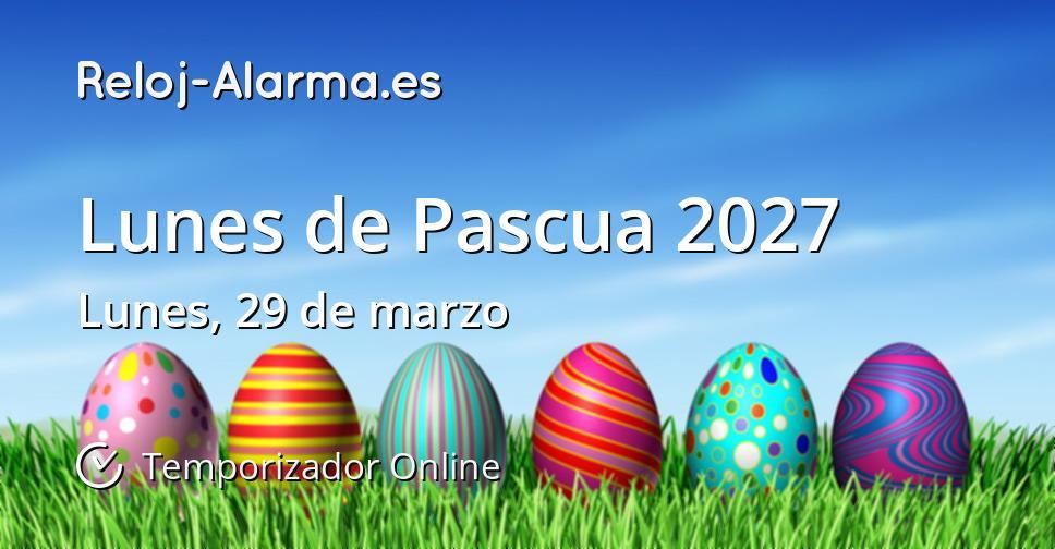 Lunes de Pascua 2027