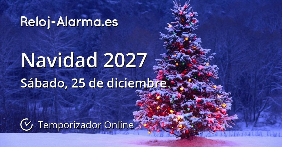 Navidad 2027