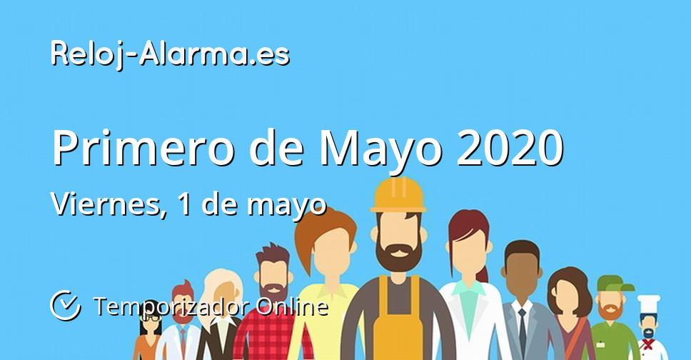 Primero de Mayo 2020
