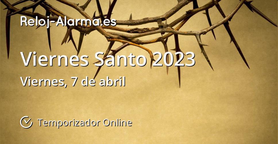 Viernes Santo 2023
